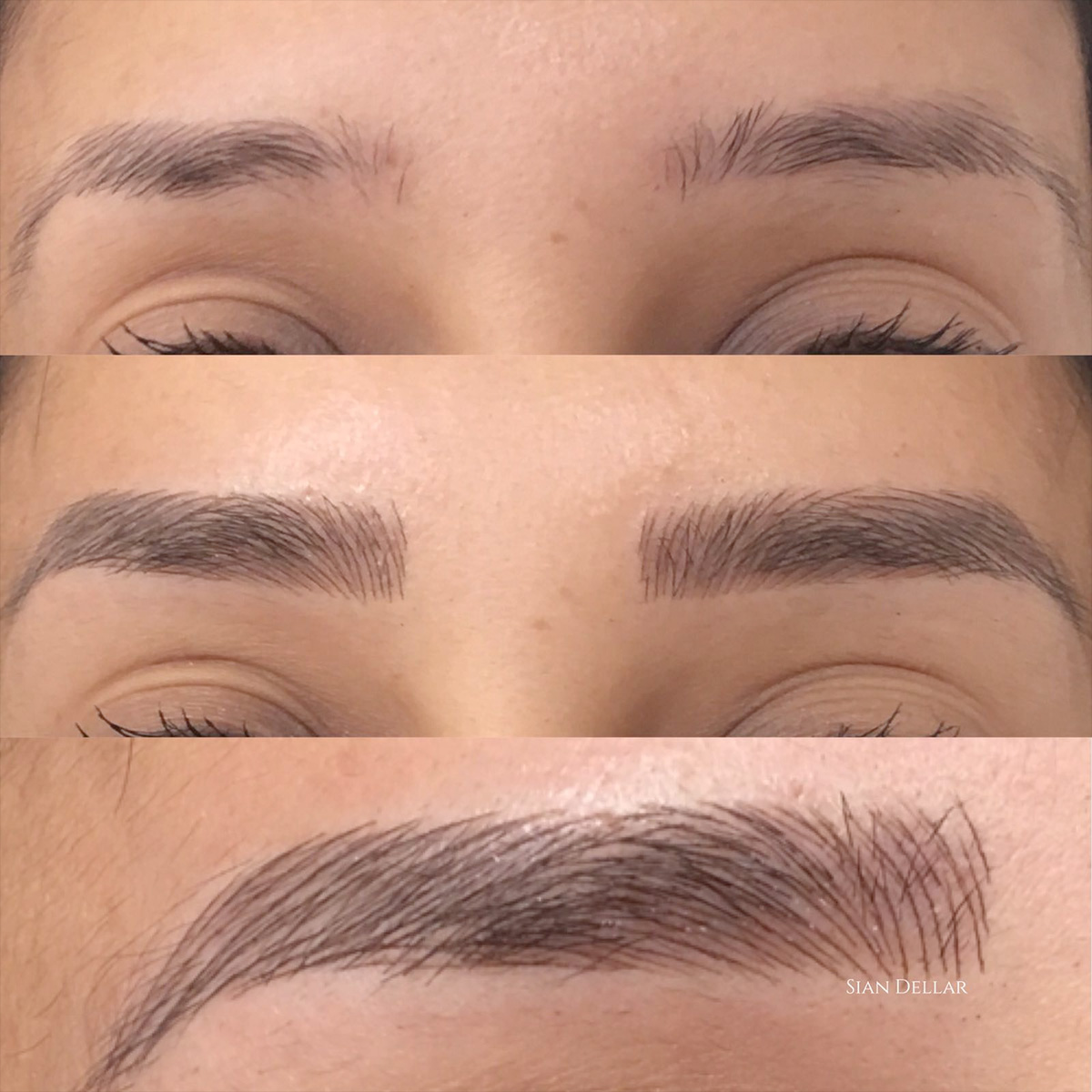 microblading london sian dellar josie fear