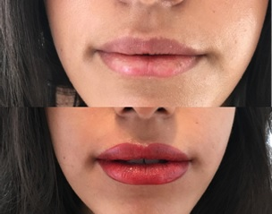 semi permanent lip makeup for winter